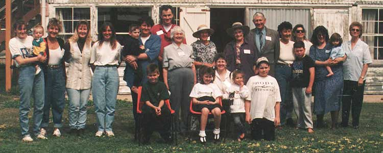 The Andrews Family Reunion Sunday 2nd October 1994